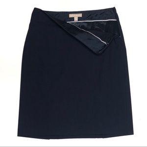 Banana Republic | Navy Wool Suit Skirt 6